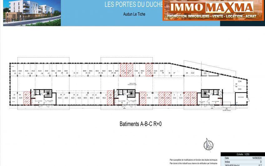 Audun-le-Tiche-Appartement à vendre 55m²