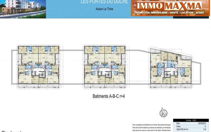 Audun-le-Tiche-Appartement à vendre 62m²