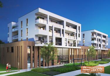 Audun-le-Tiche-Appartement 2 chambres 68m²