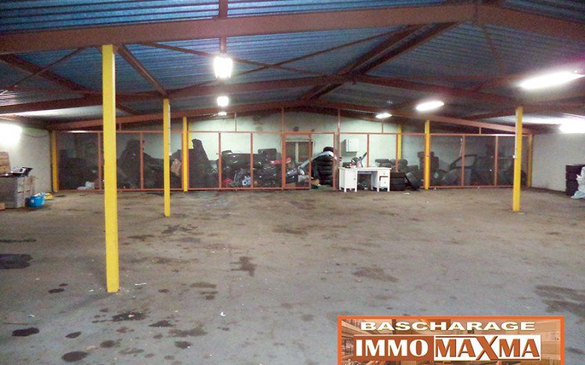Hangar de stockage Longwy