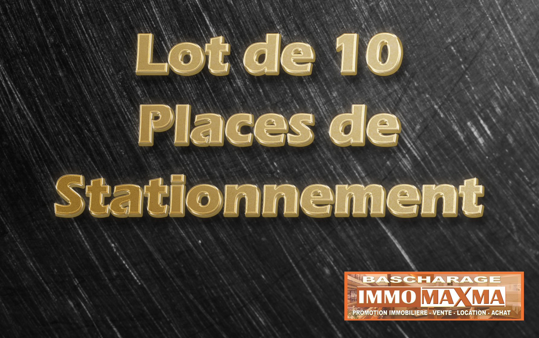LOT DE 10 PLACES DE PARKING METZ
