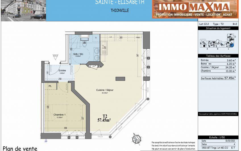 Appartement à vendre à Thionville(FR)