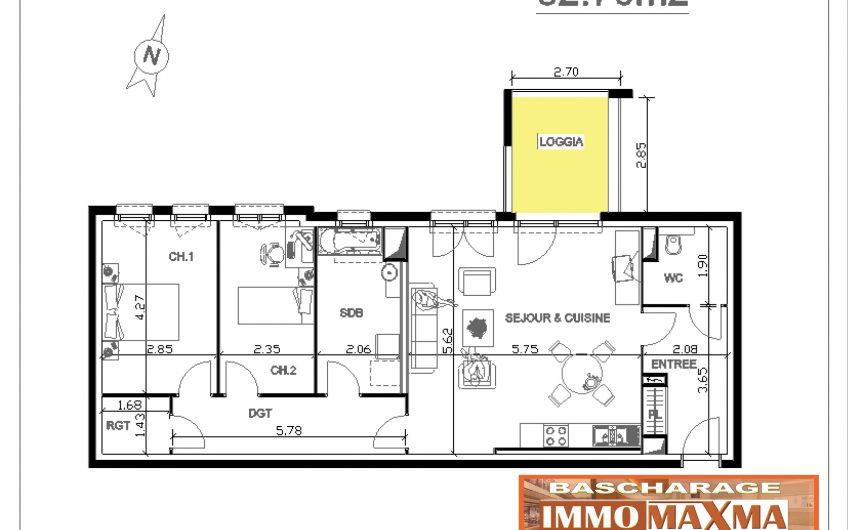Appartement à vendre à Lexy(FR)